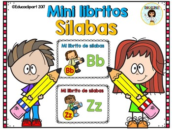 Bundle Sílabas - mini libritos / Spanish Syllables mini books