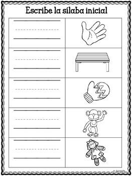Sílabas musicales - Páginas de práctica ** Musical Syllable Practice Sheets