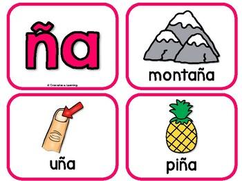 Sílabas pequeñas – Spanish phonics activities for ña, ñe, ñi, ño, ñu