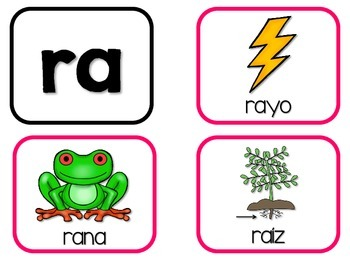 Silabas Reconocidas Spanish Phonics Activities For Ra Re Ri Ro Ru 1192647 on Free Kindergarten Worksheets For R