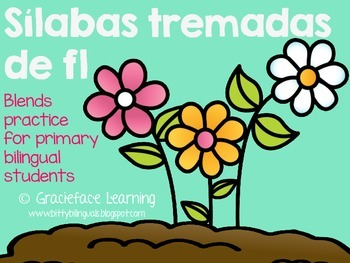 Sílabas tremadas de Fl – Spanish Blends for Fl