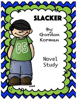 Slacker Novel Study