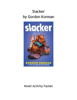 Slacker by Gordon Korman