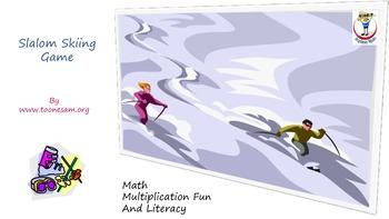 Slalom Skiing Game