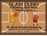 Slam Dunk Dictionary Guide Word Practice 4th Grade