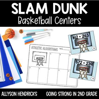 Slam Dunk! March Madness Basketball Centers 2nd Grade