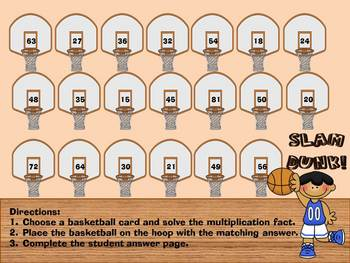 Slam Dunk Multiplication Center