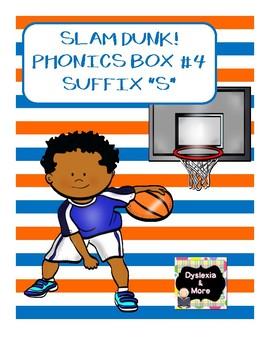 """Slam Dunk - Phonics Box #4 - Suffix """"s"""""""