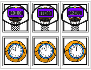 Slam Dunk on Time & Center Activities