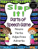 Slap It! Parts of Speech Game