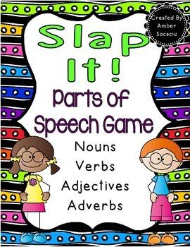 Slap It! Parts of Speech Game