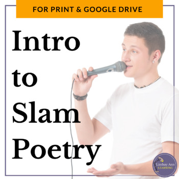 Slam Poetry Activities for Middle School and High School