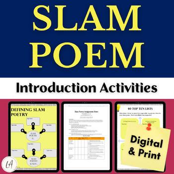 Slam Poetry Activities