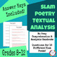 Slam Poetry Textual Analysis and Response Bundle for Secondary ELA