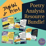 Slam Poetry Textual Analysis and Response Bundle for Secon