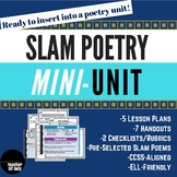 Slam Poetry Mini Unit