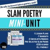 Slam Poetry Mini Unit