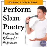 Slam Poetry Performance and Rehearsal for Middle School an