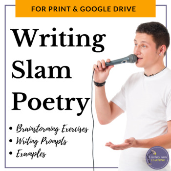 Slam Poetry Brainstorming Exercises and Writing Prompts wi