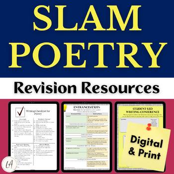 Slam Poetry Writer's Workshop Resources