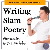 Slam Poetry Writer's Workshop Resources