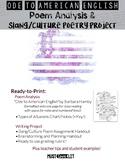 Slang/Culture Poem Allusion Lesson Ode Lesson