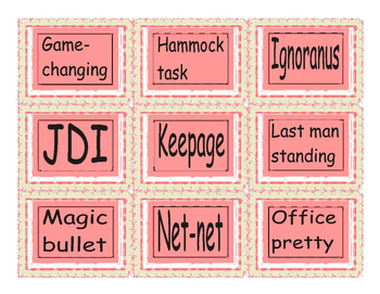 Slang at Work Cards 2