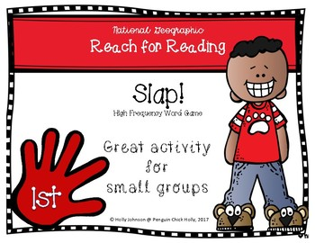 Slap! 1st grade HFW Game aligned to National Geographic REACH for READING