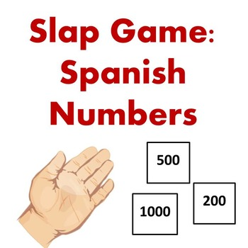 Slap Game - Spanish Numbers