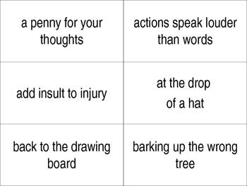Slap Idioms