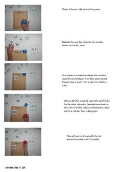 Slap It!  Multiplication (3 times tables)