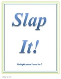 Slap It!  Multiplication (7 times tables)