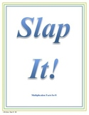 Slap It!  Multiplication (8 times tables)