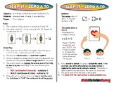 Slap It Zero and 10 - 3rd Grade Math Game [CCSS 3.OA.C.7]