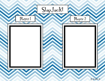 SlapJack! Comparing Integers Game- 6.NS.7b