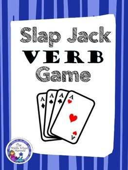 Slap Jack- Verb Game