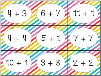 Slap Math - Addition & Subtraction