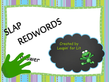 Slap Redwords
