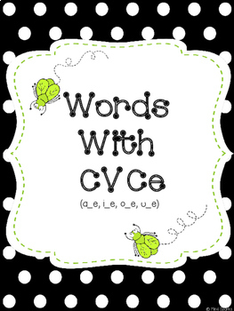 Slap Words (CVCe Edition)