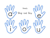 Slap and Say Game (Vowels, Letter ID, Beginning Sounds, Clusters)