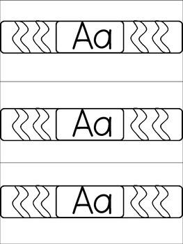Slap on Learning with these Alphabet Slap Bracelets Letters ABC
