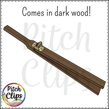 Slapstick (Slap stick) Clipart (Clip art) - Commercial Use