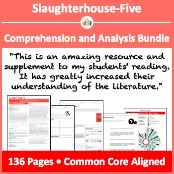 Slaughterhouse-Five – Comprehension and Analysis Bundle