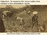 Slave Codes PowerPoint Presentation
