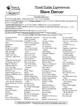 Slave Dancer Literature Guide