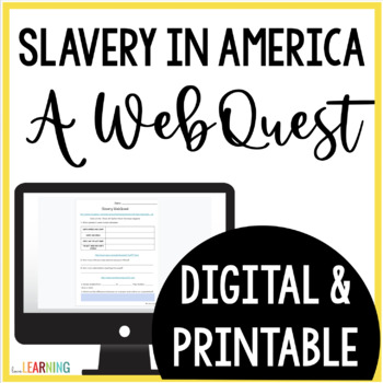 Slave Life Webquest {Internet Activity}