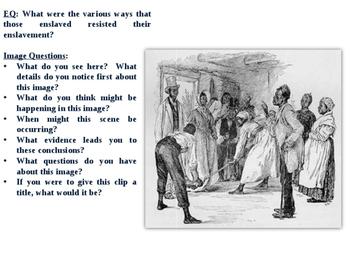 Slave Resistance - Mini-Lesson