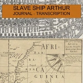 Slave Ship Arthur 1677 Journal