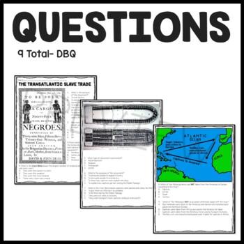Slave Trade Reading Comprehension and DBQ