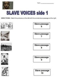 Slave Voices: Slavery in America